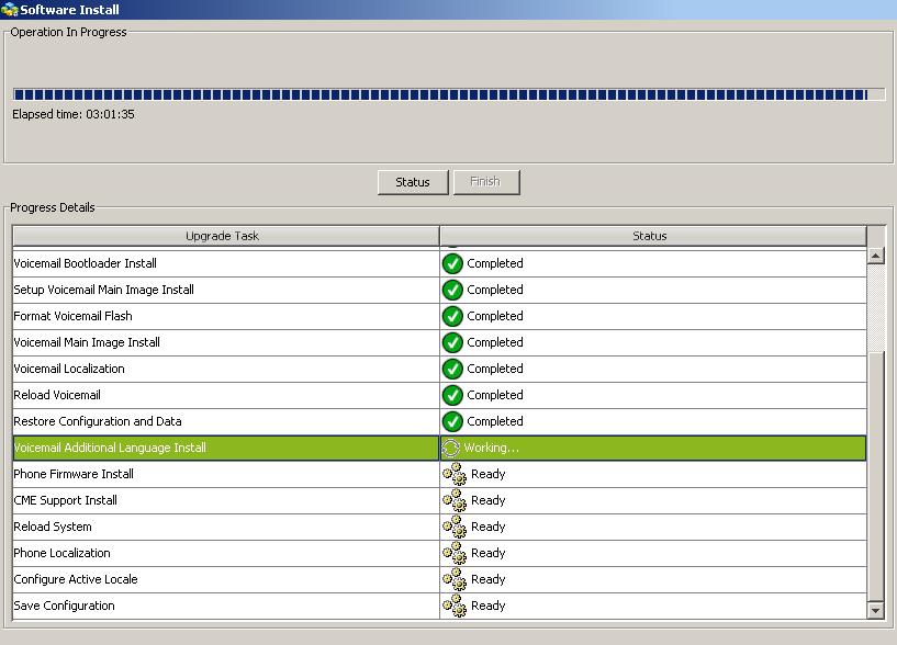 Proceso instalación Software Pack