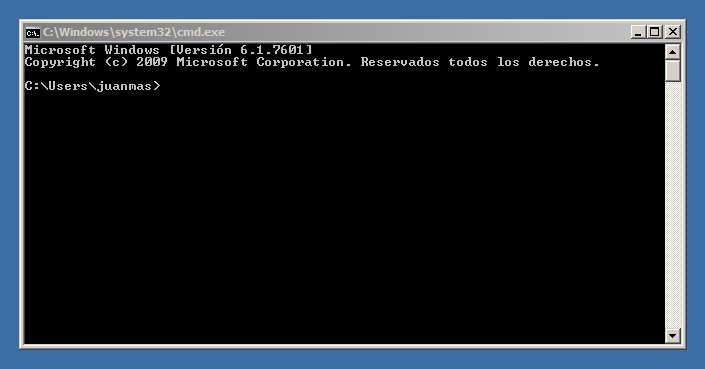 CMD Windows Shell - No funciona Internet