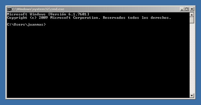 CMD Windows Shell - No funciona Internet