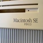 Macintosh SE FDHD Antes de la aplicación del retrobright