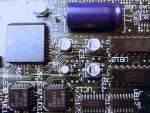 Detalle sustitución condensadores