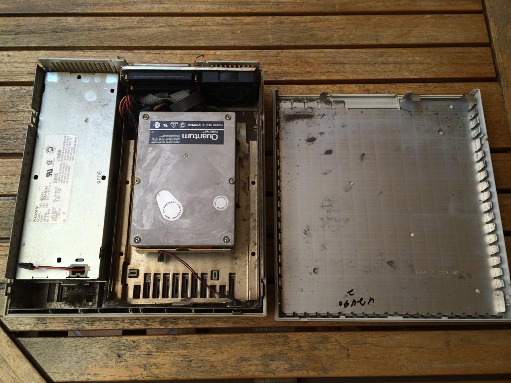 Interior del Macintosh HD 40SC