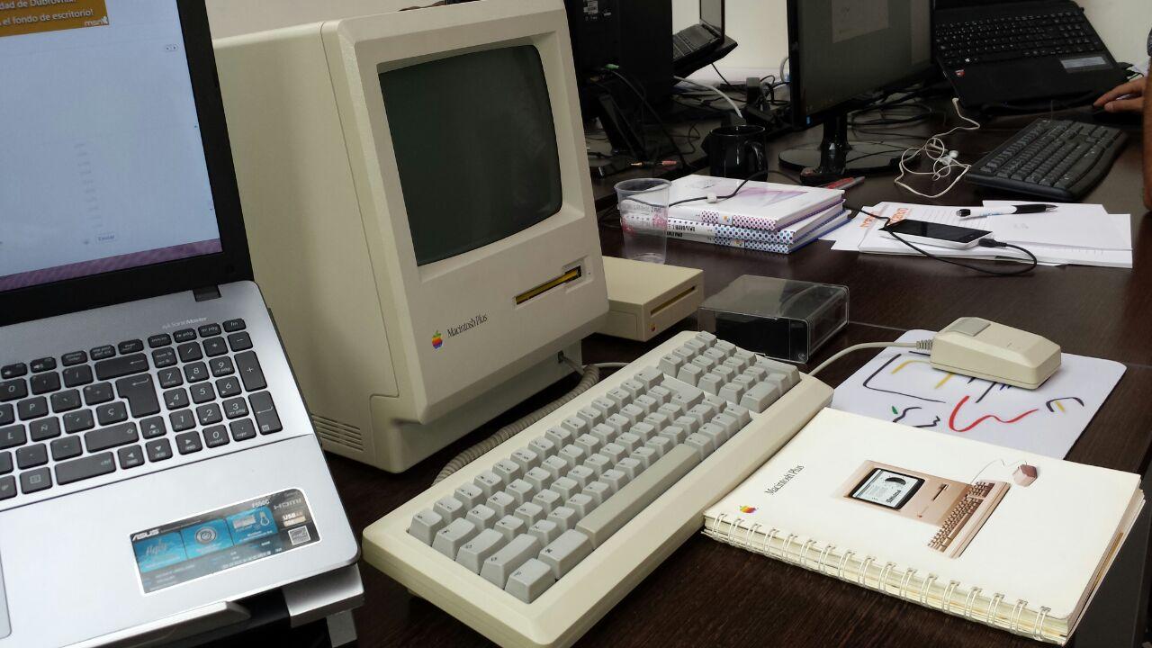 Apple vintage Macintosh Plus