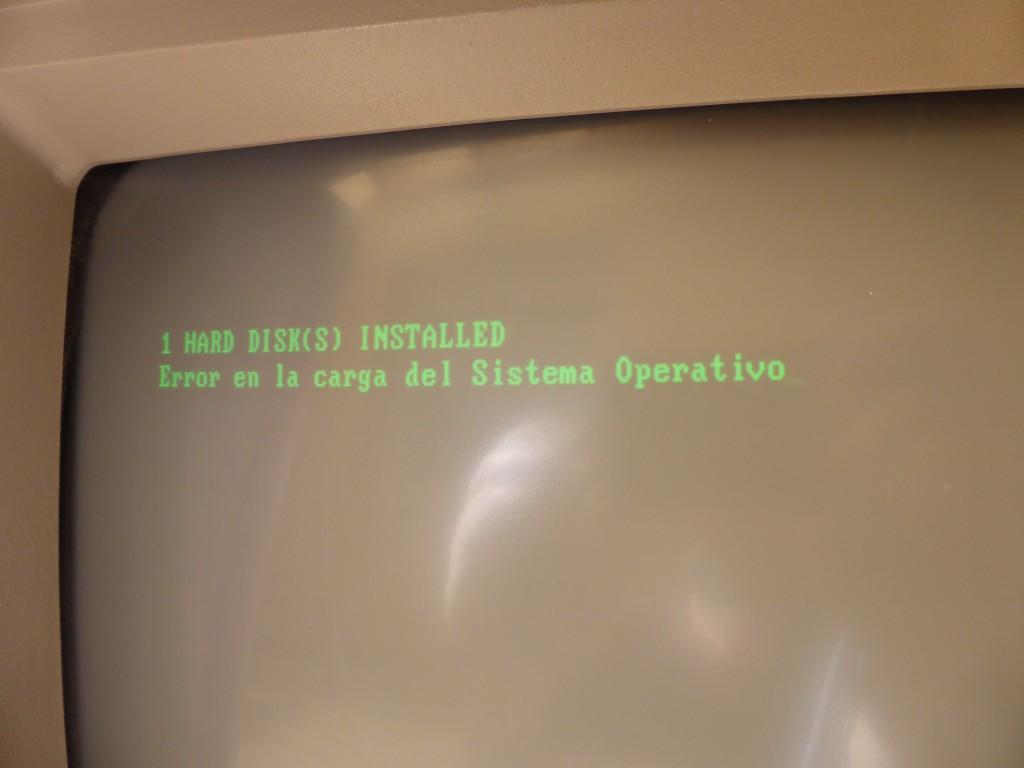 Arranque IBM 5150